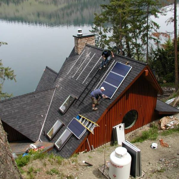 Nova independent resources Off-Grid Cabin